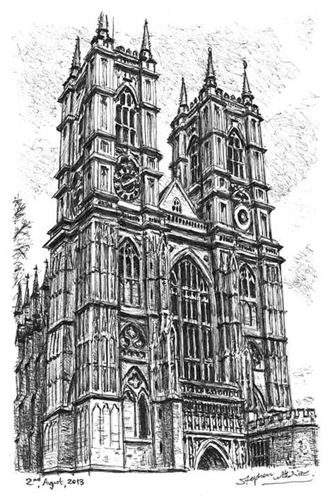 Westminster Abbey - Drawings, prints and limited editions