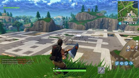 Fortnite players tried to destroy Tilted Towers in mass