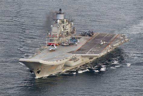 Russia's only aircraft carrier will again travel through