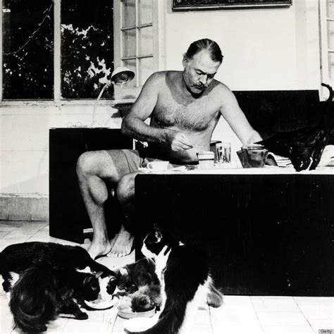 Ernest Hemingway Loved His Cats Enough To Shoot One In The