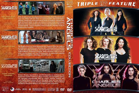 Charlie's Angels Collection R1 Custom DVD Cover - DVDcover