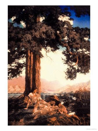 Hilltop Prints by Maxfield Parrish at AllPosters
