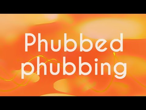 What Is 'Phubbing' Doing To Our Relationships And Our