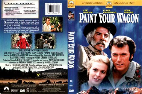 PAINT YOUR WAGON (1969) R1 DVD COVER & LABEL - DVDcover