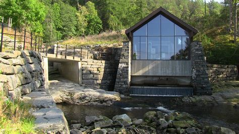 Small-scale hydroelectric power station in Alsåker   Film