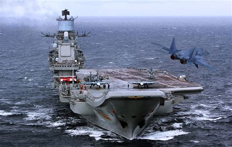Picture Aircraft carrier Russian aircraft carrier Admiral