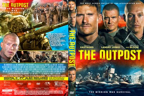 The Outpost (2020) R1 Custom DVD Cover & Label - DVDcover