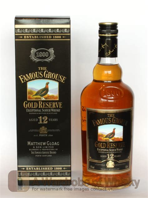 Buy The Famous Grouse 12 year Gold Reserve Blended Whisky