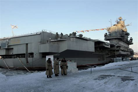 Royal navy to intercept Russian aircraft carrier in
