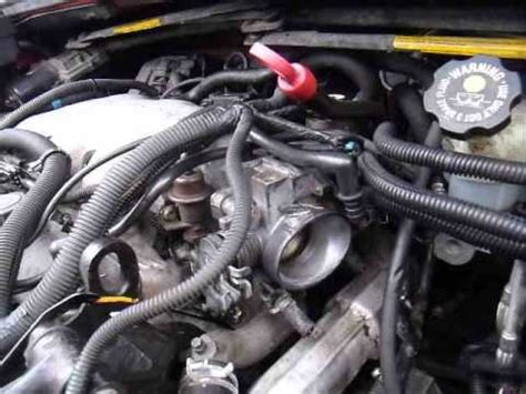 How To Fix & Replace a Thermostat GM 3400 Aztek Rendezvous