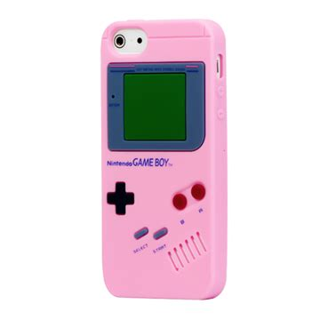 iPhone SE / 5 / 5s Gameboy Cover Lyserød | MOBILCOVERS