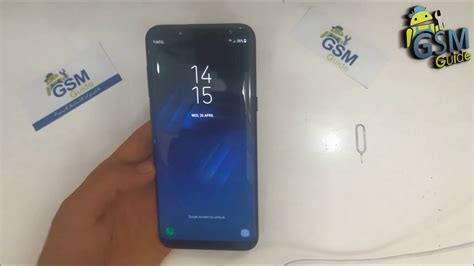 Inserting SIM and SD Card in Galaxy S8 / S8+ -- Gsm Guide