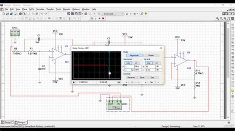 Multisim Simulation of Low-Pass Filter - YouTube