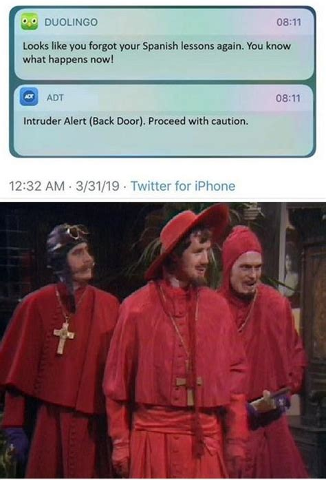 No one expects the