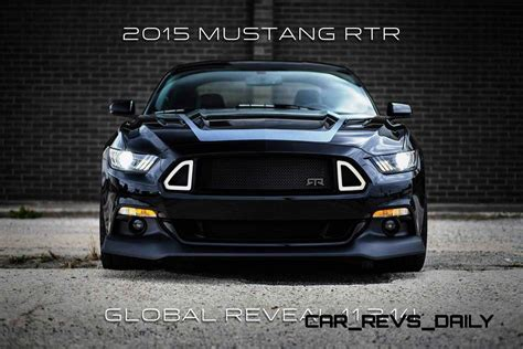 2015 Ford Mustang RTR Spec 5 Widebody Joins 'Ready to Rock
