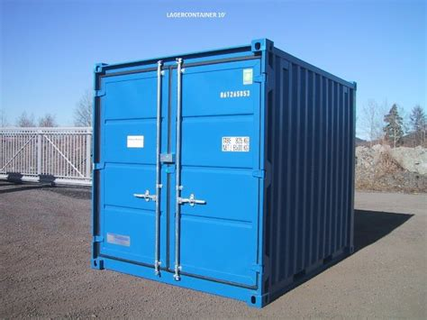 Containex 10' lager container occasion, Année d