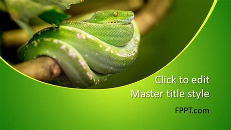 Free Snake PowerPoint Template - Free PowerPoint Templates