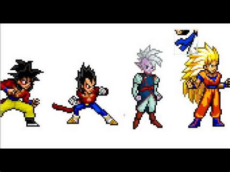 How To Create Your Own DBZ Character (Sprite) - YouTube