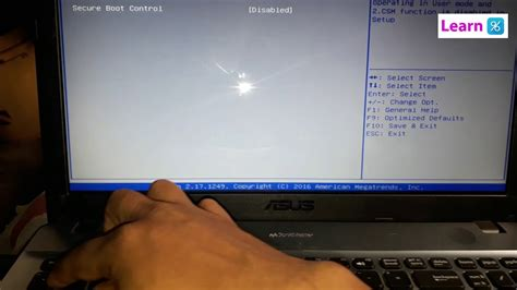 Asus X541S Bios Boot from Usb / Disk Drive