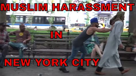 Muslim Harassment IN NEW YORK SOCIAL EXPERIMENT! - YouTube