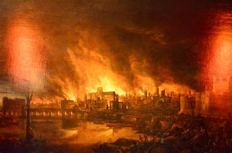 The Great Fire of London, 1666 on AboutBritain