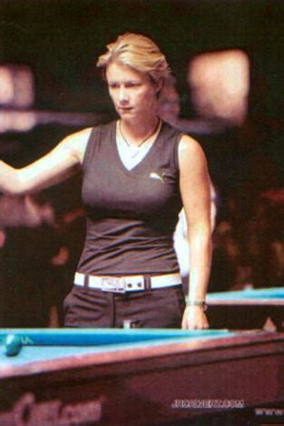 SPOTTED! Allison Fisher - Pro Billiard Player - Q-Link