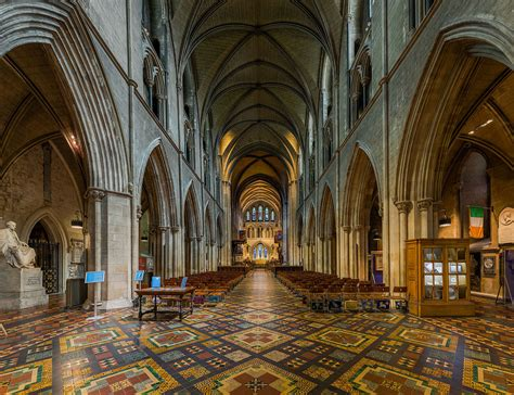 File:St Patrick's Cathedral Nave 2, Dublin, Ireland