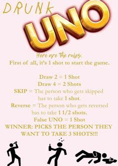 Drunk Uno | Games | Drinking games, Drinks, Party Games