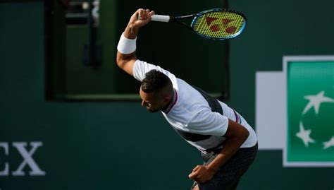 WATCH: All in a day's work as Nick Kyrgios smashes racket