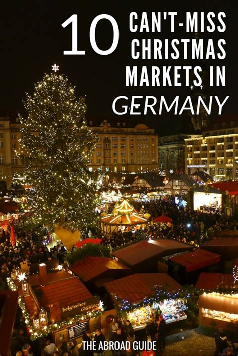 10 Can't-Miss Christmas Markets in Germany   The Abroad Guide