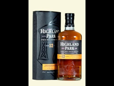 Highland Park 12 Year Old Gift Pack with 2x Glasses Whisky