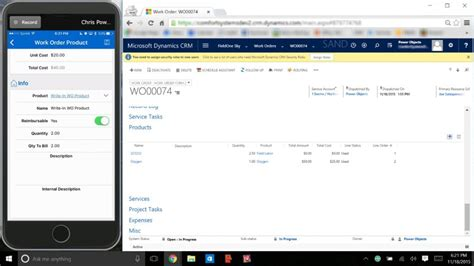 Dynamics CRM and FieldOne: Solutions for Field Services