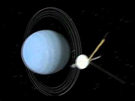 Voyager 2 Flyby of Uranus (1986) Official NASA animations