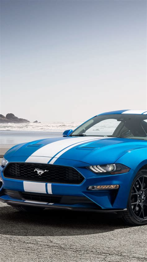Wallpaper Ford Mustang Ecoboost, Performance Pack, 2019