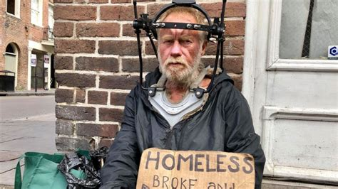 New Orleans Homeless Man Recently Discharged From a Hospital