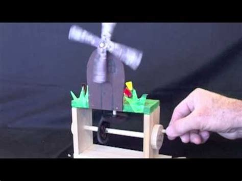 Year 8 Wooden Mechanical Toys - YouTube