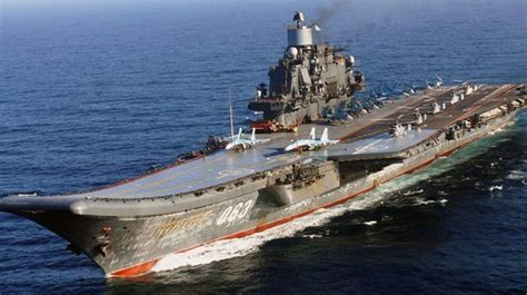 Russia Withdraws Aircraft Carrier Group From Syria - News