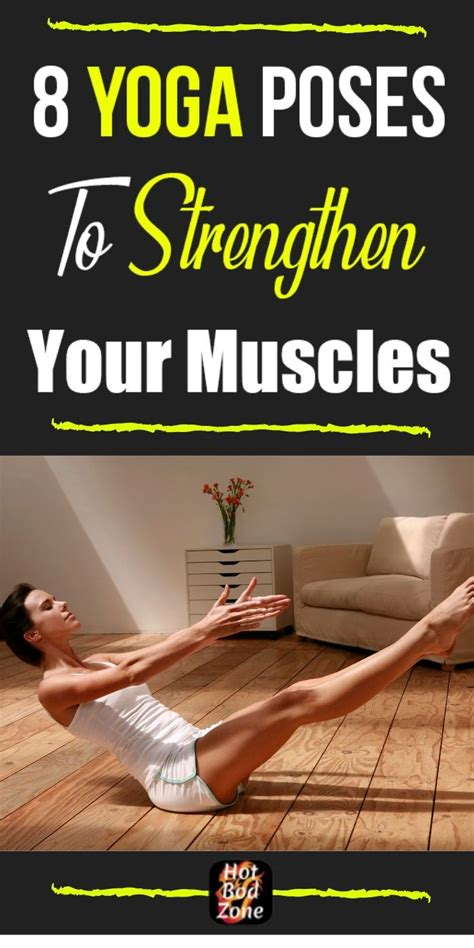 Strength Building Yoga Poses Workouts for Women