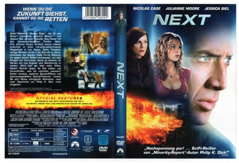Next (2007) R2 german DVD Cover - DVDcover