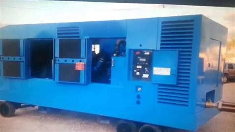 Used Ingersoll Rand oil free portable air compressor