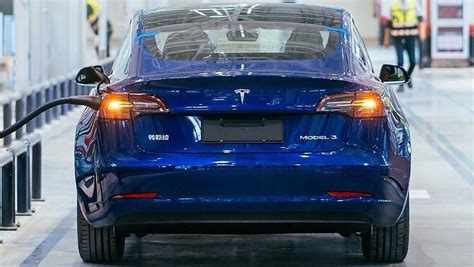 First look at Tesla's Made-in-China Model 3