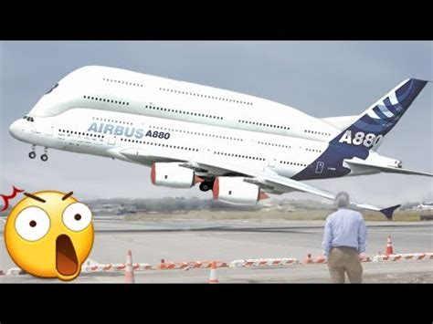 Biggest Airplanes in the World Biggest Airbus A380 vs
