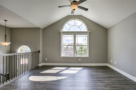 Sherwin Williams: Walls are Pussywillow, trim is Origami