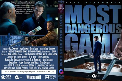 Most Dangerous Game (2020) R0 Custom DVD Cover - DVDcover