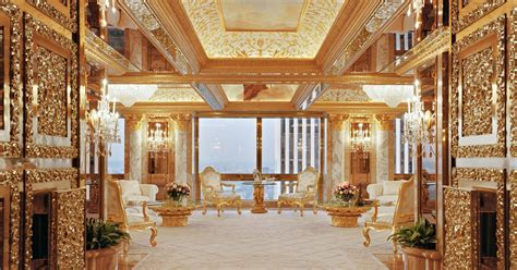 Will he go for the gold? Donald Trump's redecorating plans