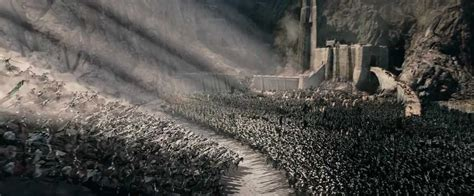 The Battle of Helm's Deep in The Lord of the Rings: The