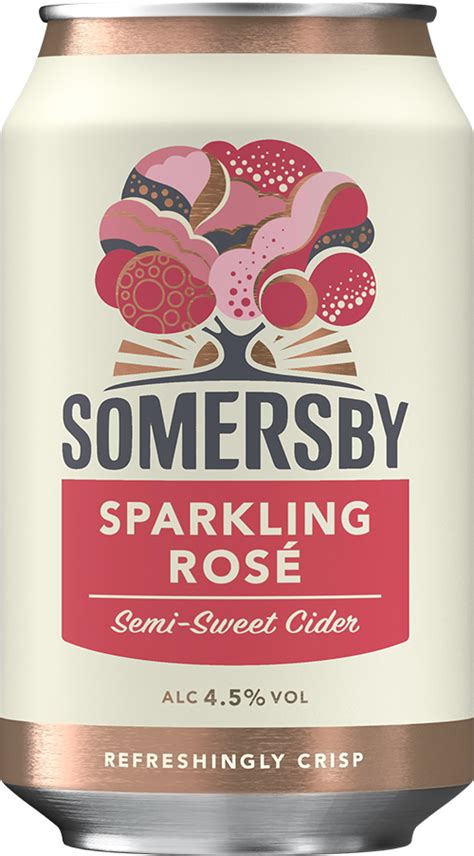 Produkter » Somersby » Somersby Sparkling Rosé « Ringnes AS